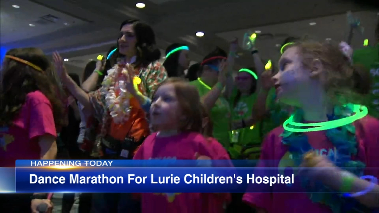A dance marathon fundraiser was held for Lurie Childrens Hospital patients Saturday.