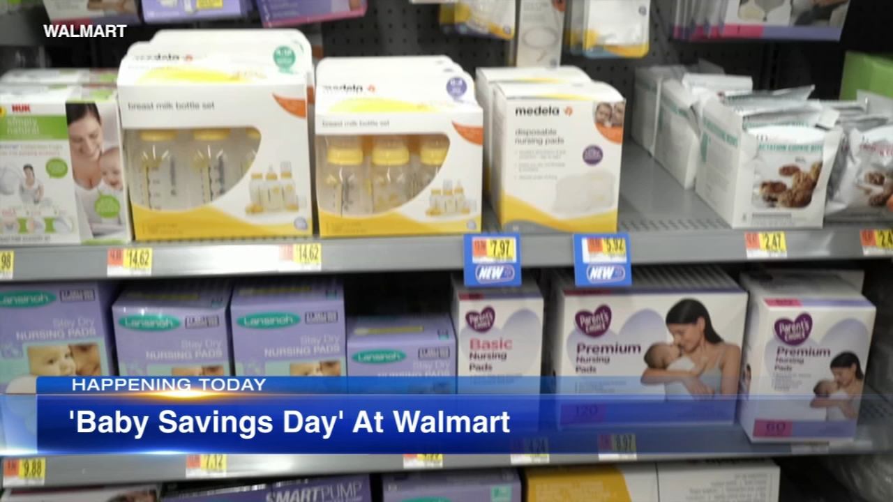 New parents have the opportunity to save some money at Walmart this weekend.
