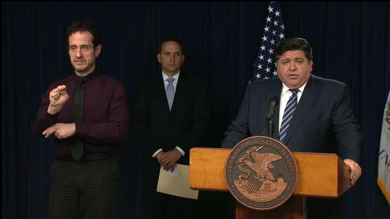 Coronavirus Update Illinois Gov Jb Pritzker Announces Stay At Home Order Due To Covid 19