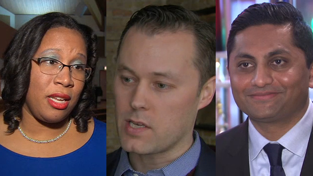 Three people are running for the Chicago treasurer position: state Rep. Melissa Conyears-Ervin (D-Chicago), CPA Peter Gariepy and Ald. Ameya Pawar (7th Ward).