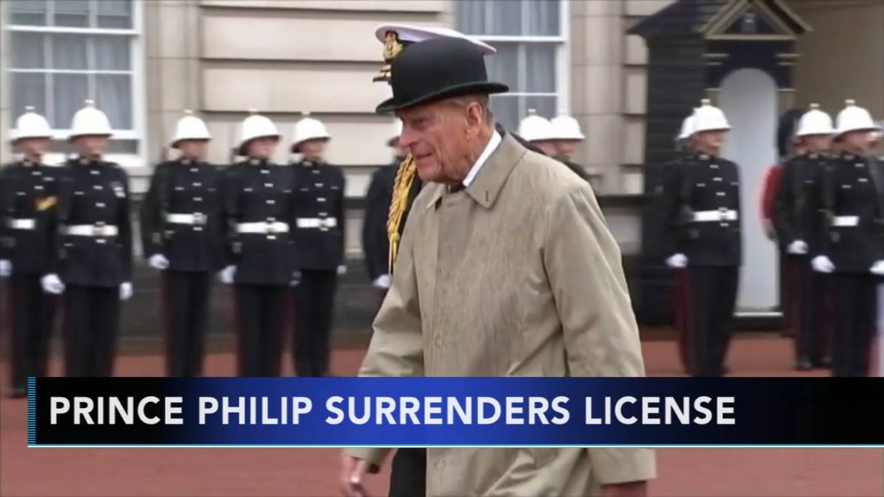 Prince Philip gives up his drivers license following crash. Gray Hall reports during Action News at 6 a.m. on February 10, 2019.