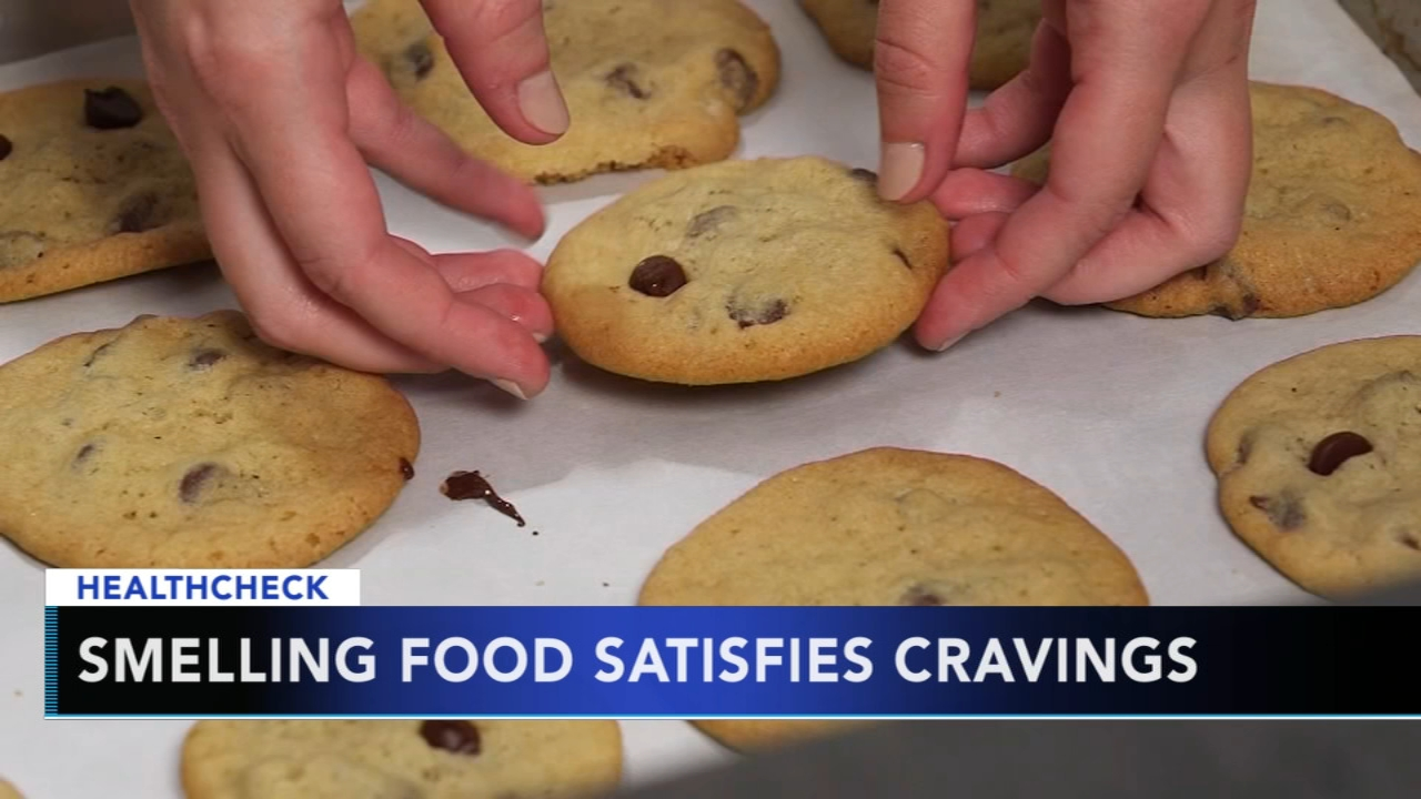 Study finds smelling foods may satisfy your hunger cravings. Nydia Han reports during Action News at 9 a.m. on February 10, 2019.