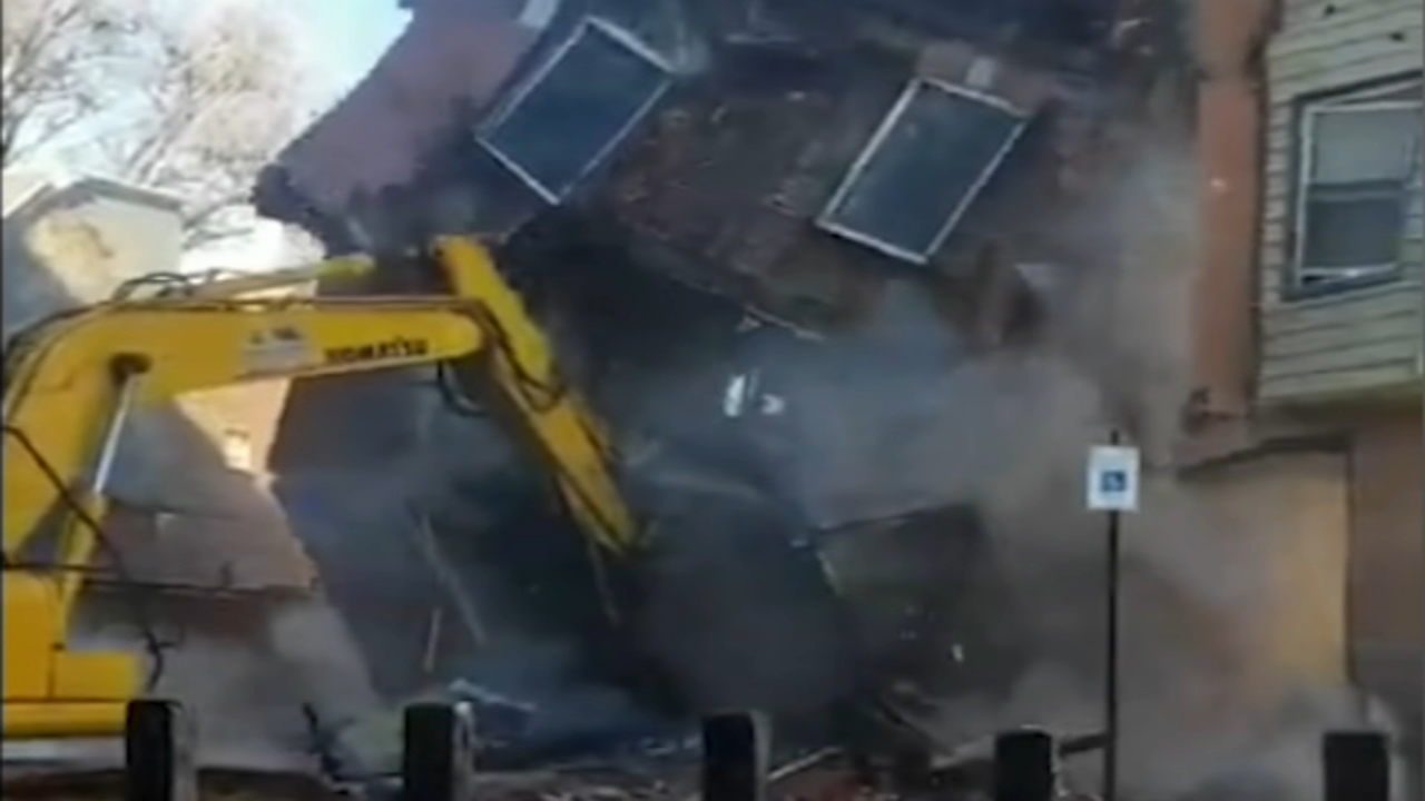 Investigation underway into demolition of Fishtown homes. John Rawlins reports during Action News at 4pm on February 11, 2019.