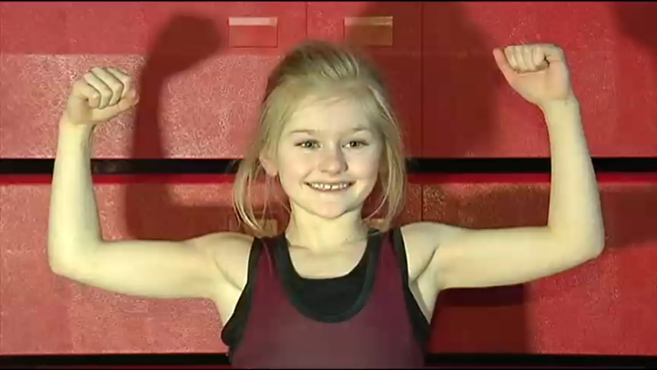 Historic win for 9-year-old wrestler in Lehigh Valley. Matt ODonnell reports during Action News Mornings on February 11, 2019.