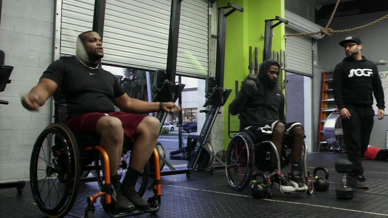 Florida CrossFit gym offeres adaptive training for those with spinal cord injuries: Ali Gorman reports on Action News at 5 p.m., February 12, 2019