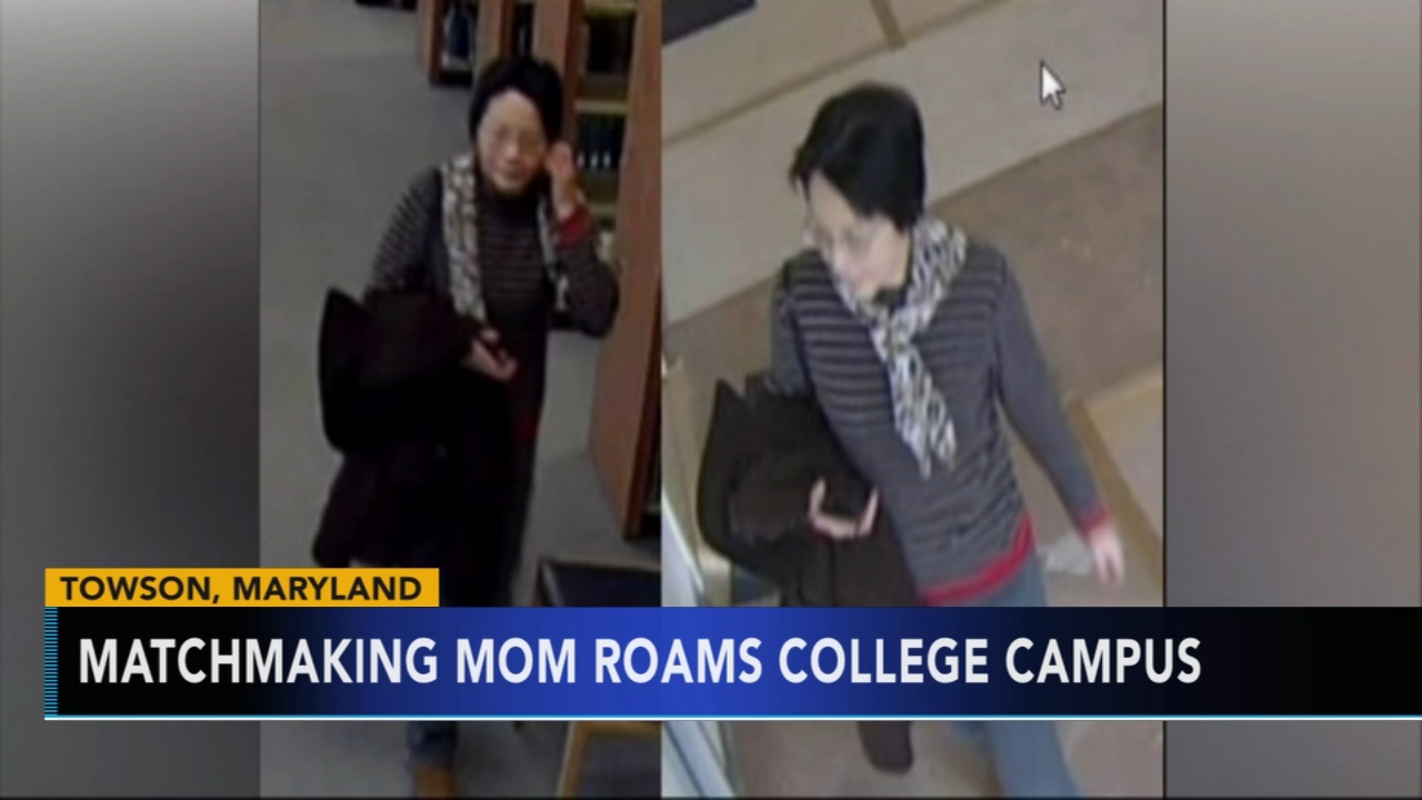 Matchmaking mom roams college campus. Tamala Edwards reports during Action News Mornings on February 12, 2019.