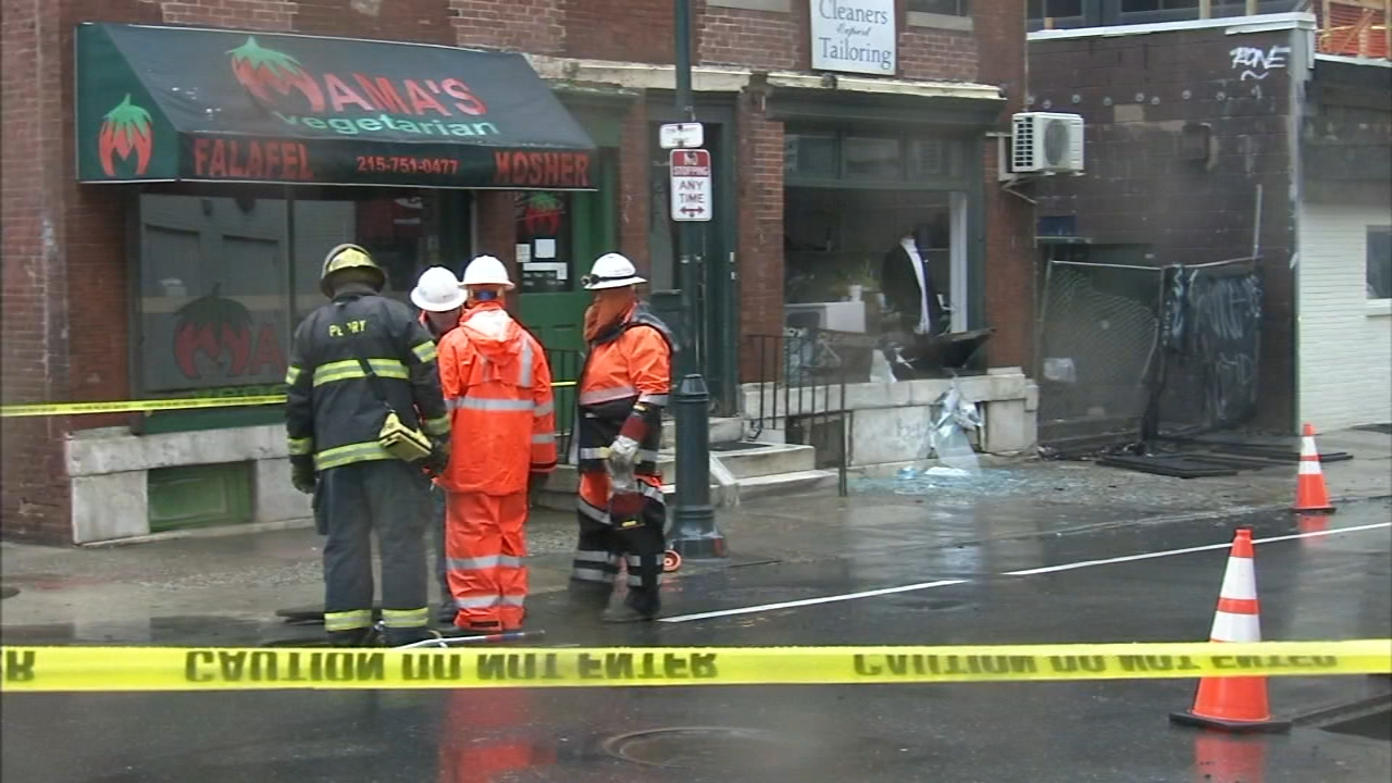 Firefighters in Philadelphia are investigating multiple underground explosions in Center City on Tuesday afternoon. John Rawlins has more on Action News at 4 p.m. on February 12, 2
