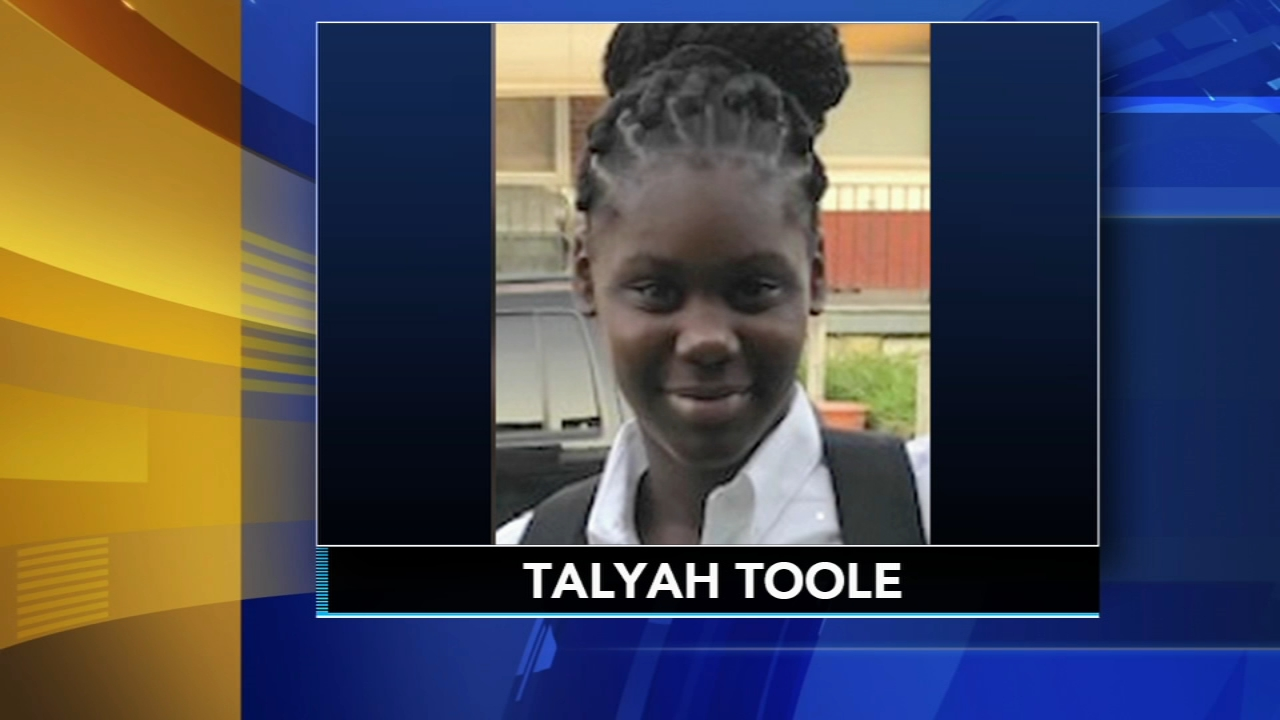 Philly police are searching for 13-year-old Talyah Toole who has been missing since Saturday. Rick Williams has the latest on Action News at Noon on Feb. 13, 2019.