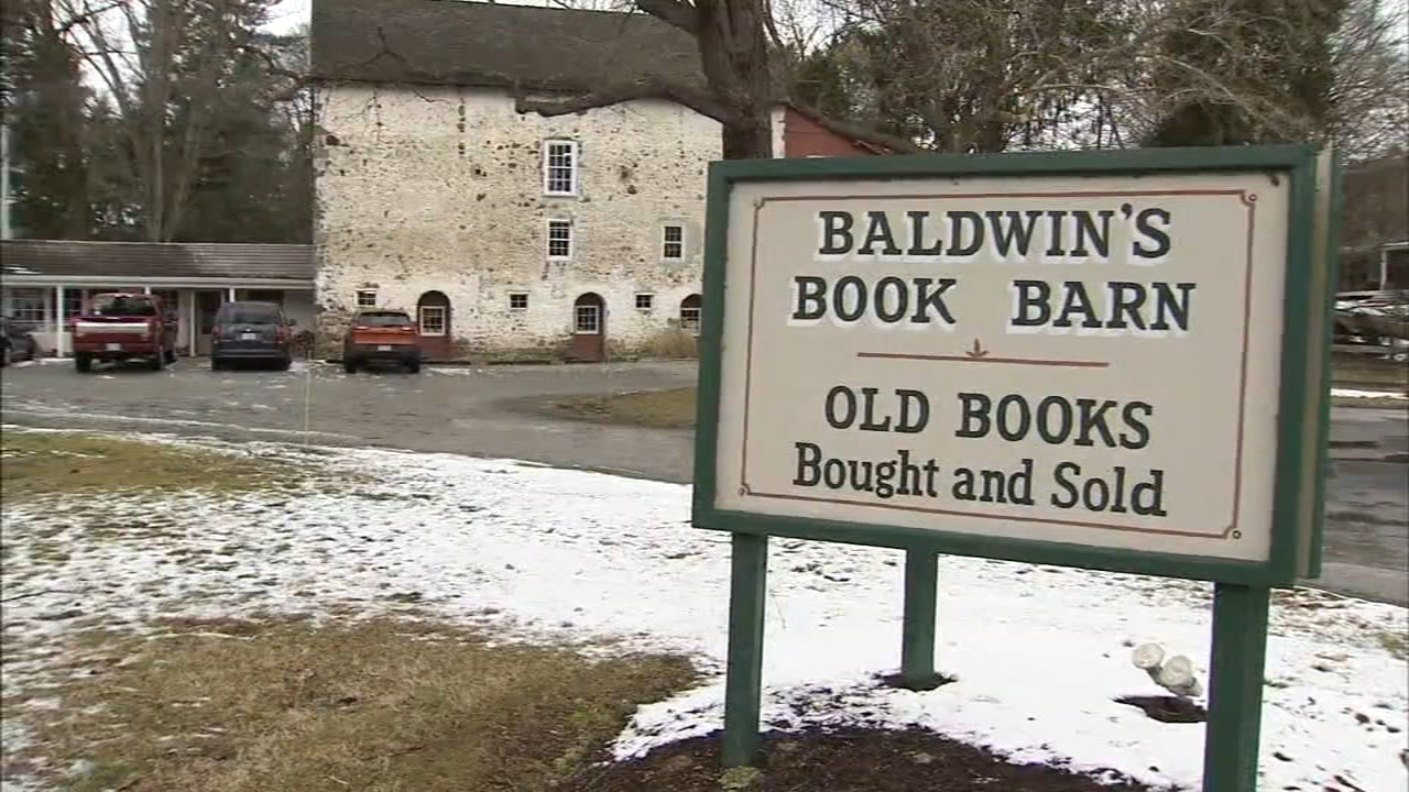 Rare books stolen from Baldwins Book Barn in West Chester. Watch the report from Bob Brooks on Action News at 4:30 p.m. on February 13, 2019.