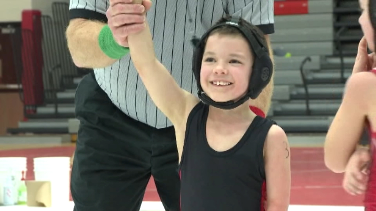 I feel like I am a king. Thats how a six-year-old wrestler from Illinois describes what its like when hes on the mat.