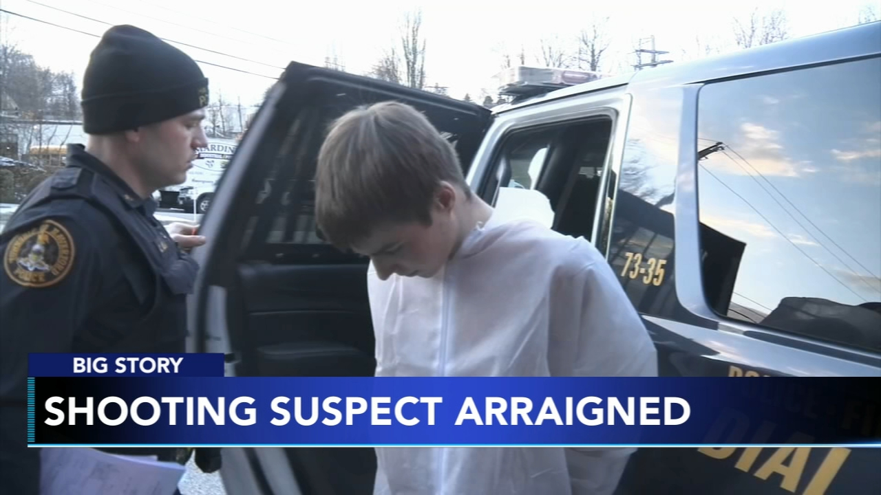 Haverford shooting suspect arraigned; to be tried as adult: Gray Hall reports on Action News at 6 p.m., February 13, 2019