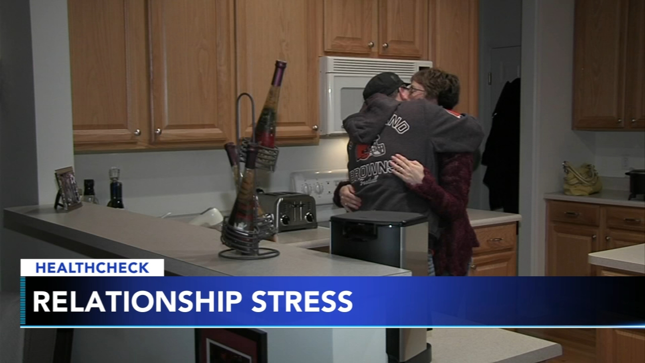 How marital stress can impact your health - Ali Gorman reports during Action News at 5pm on February 13, 2019.