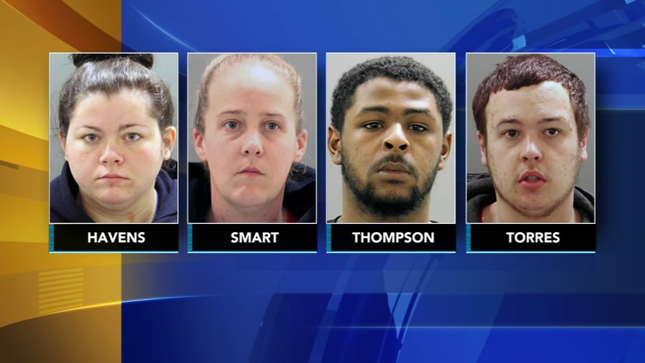 4 suspects arrested after vehicles stolen while warming up in Del. Brian Taff reports during Action News at 4 p.m. on February 13, 2019.