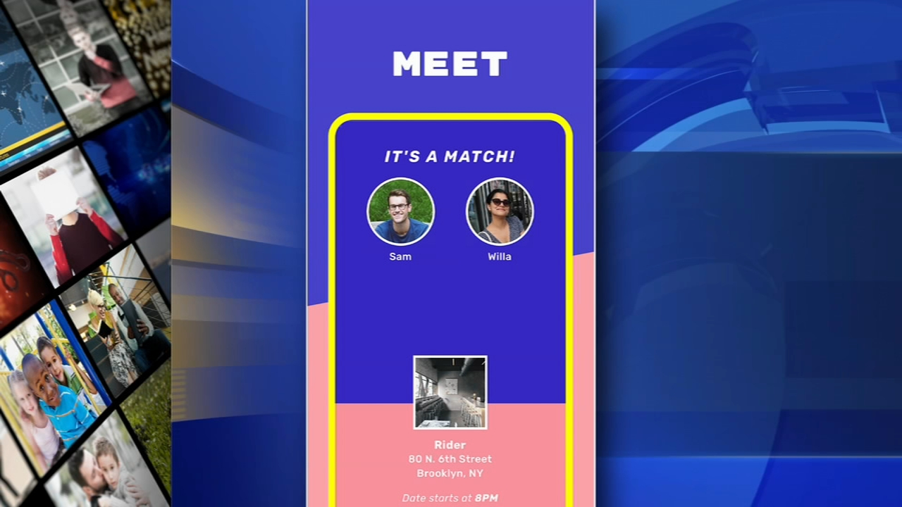New dating app guarantees you a date within an hour. Sharrie Williams reports during Action News at 4 p.m. on February 14, 2019.
