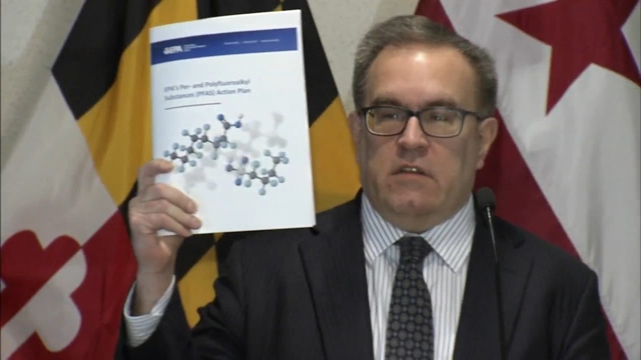 EPA outlines plan for dealing with toxic chemicals in water. John Rawlins reports during Action News at 4pm on February 14, 2019.