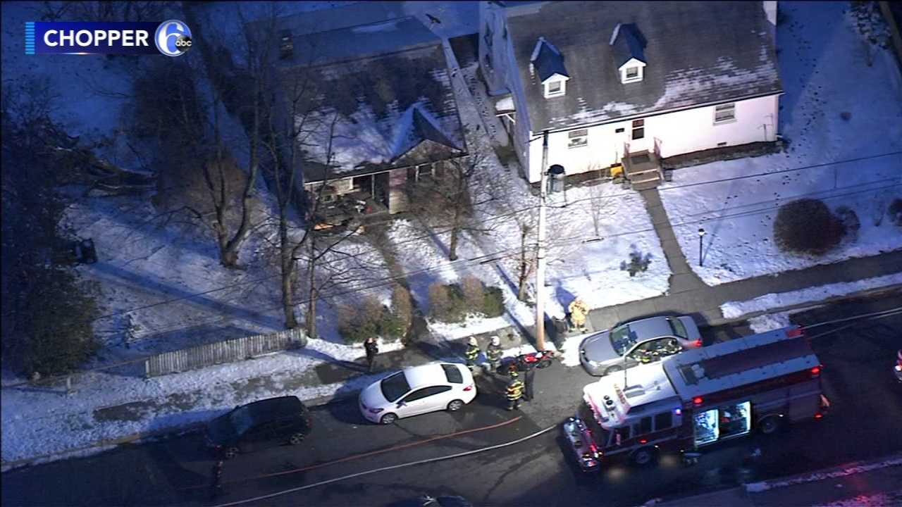 Fire crews battle house blaze in Montgomery County. Rick Williams reports during Action News at 12:30 p.m. on February 14, 2019.