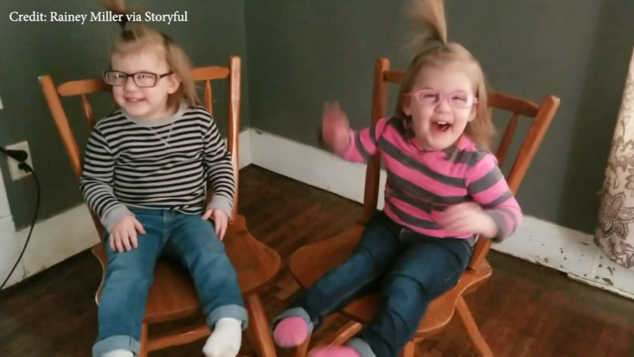 Thanks to an eye exam, the girls are seeing the world through a new lense and the laughs have yet to stop.