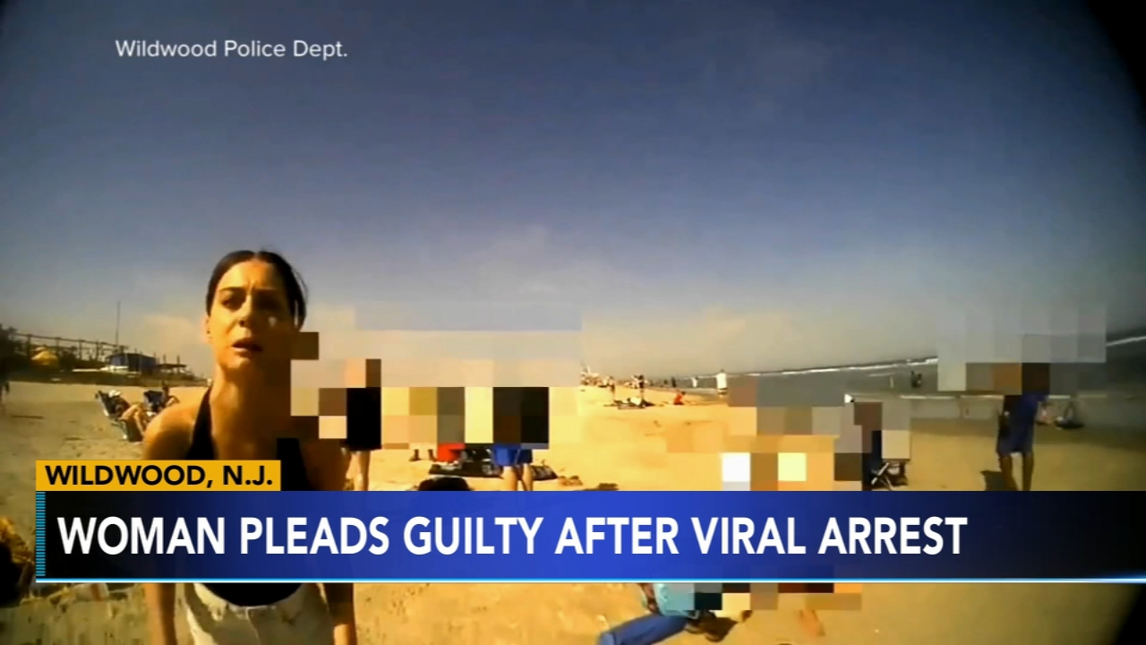 A Philly woman in a videotaped Wildwood beach arrest has accepted a plea deal. Brian Taff has more on Action News at 4 p.m. on Feb. 15, 2019.