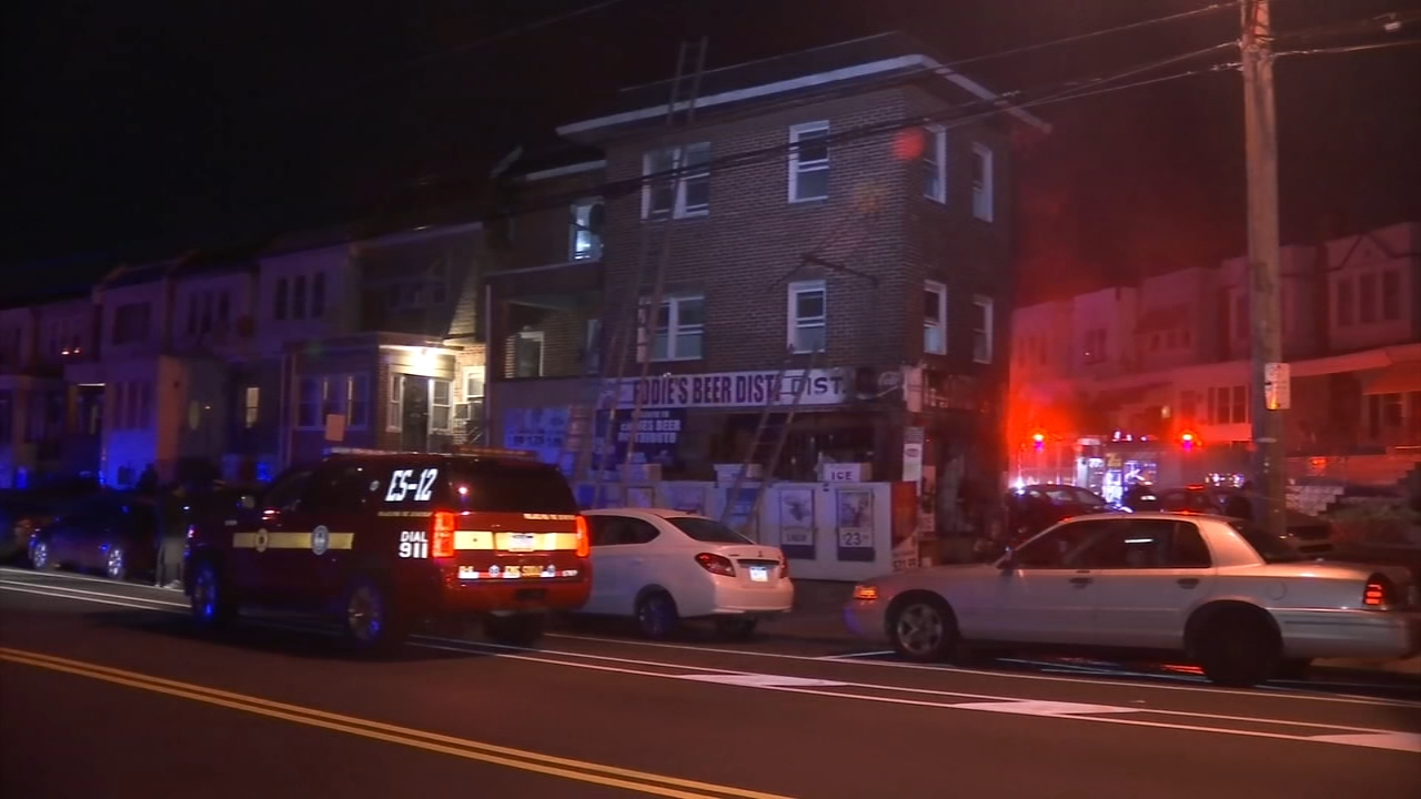 Fire damages beer store in Southwest Philadelphia. Matt ODonnell reports during Action News Mornings on February 15, 2019.