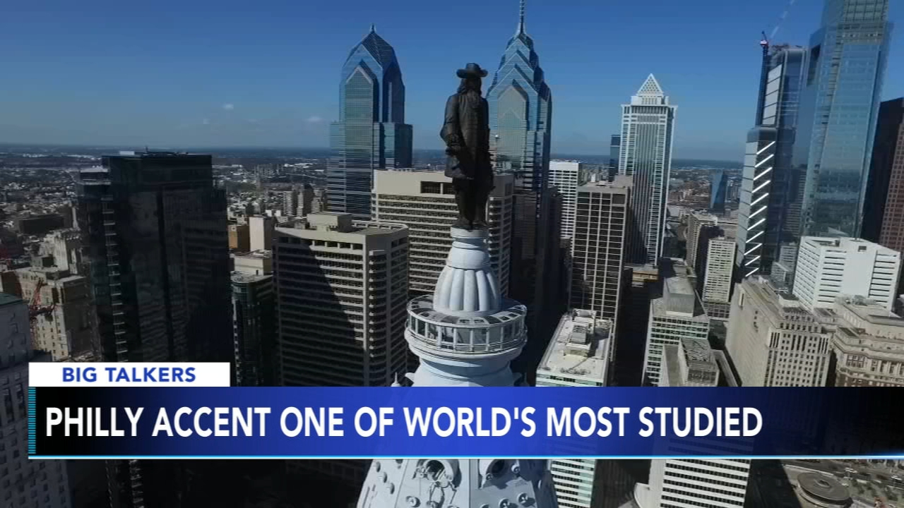 Philly accent one of the worlds most studied dialects. Brian Taff reports during Action News at 4 p.m. on February 15, 2019.