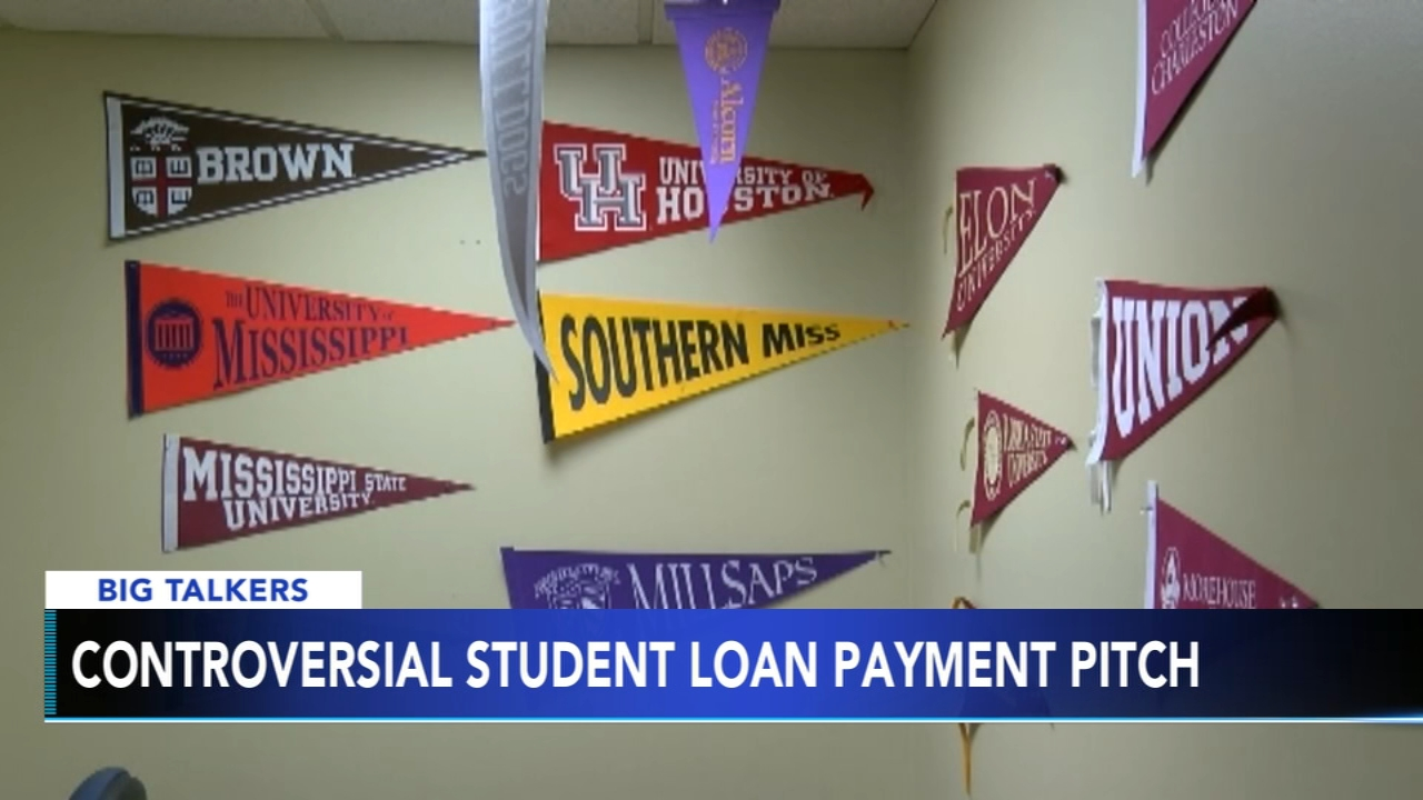 Senator suggests deducting student loan payments from paychecks. Sharrie Williams reports during Action News at 4 p.m. on February 15, 2019.