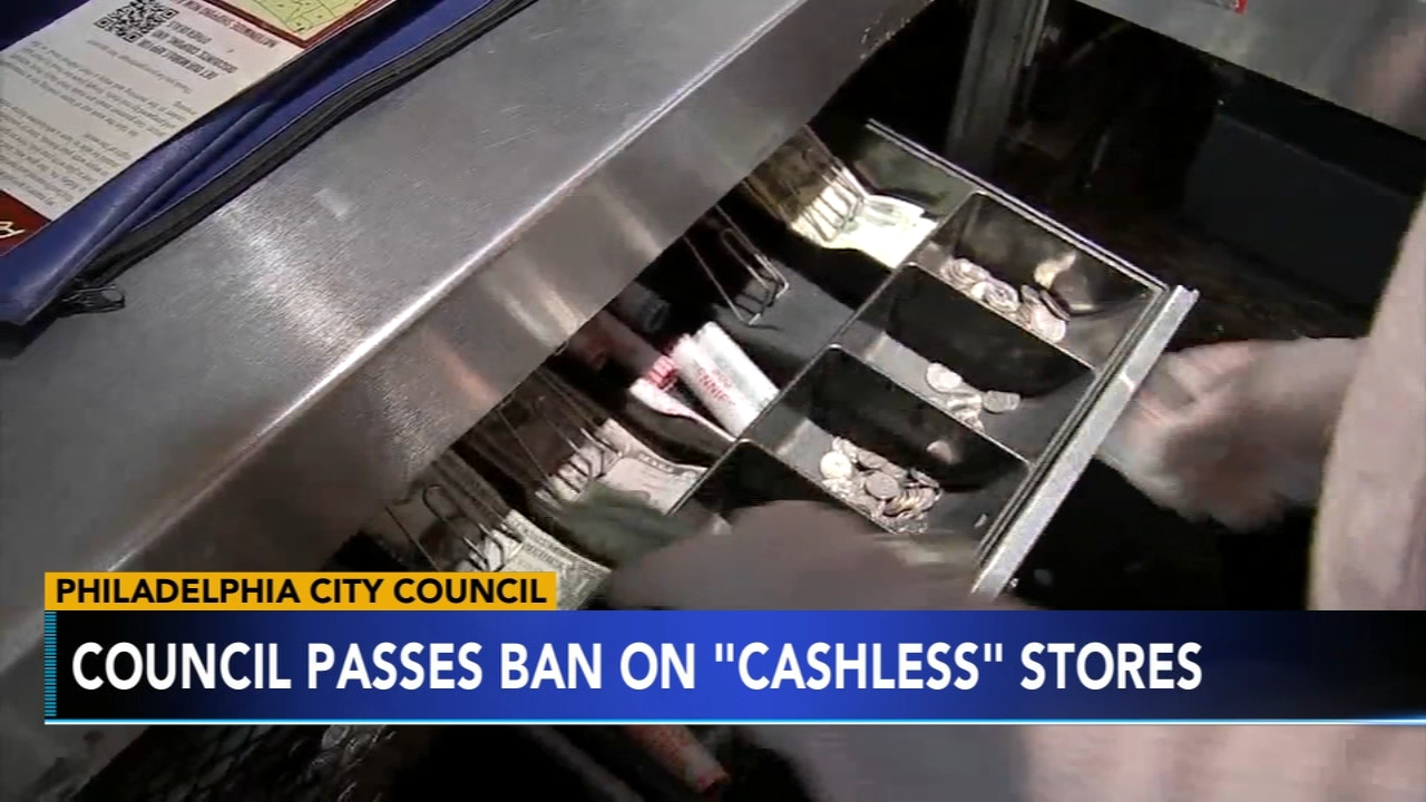 Philly Council passes ban on cashless stores. Tamala Edwards reports during Action News Mornings on February 15, 2019.