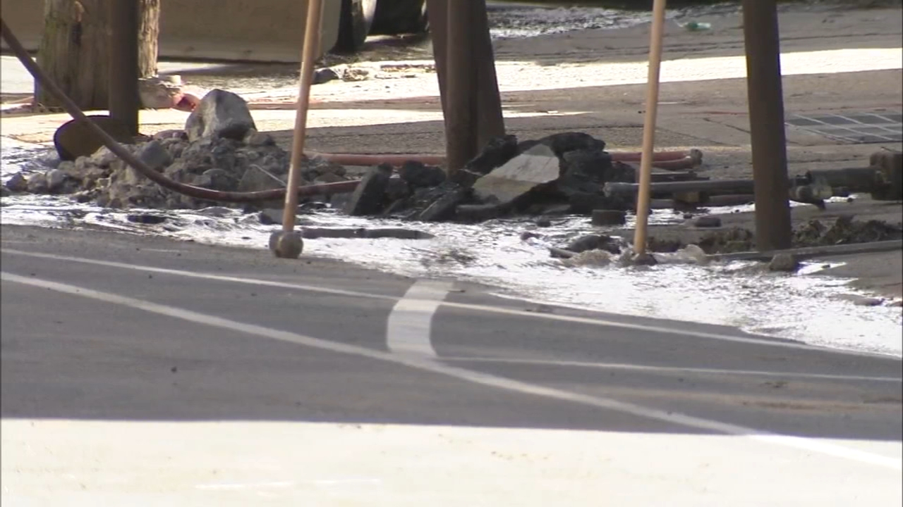 Two water main breaks cause traffic delays in the East Falls area. Maggie Kent has more on Action News at 5 p.m. on Feb. 15, 2019.