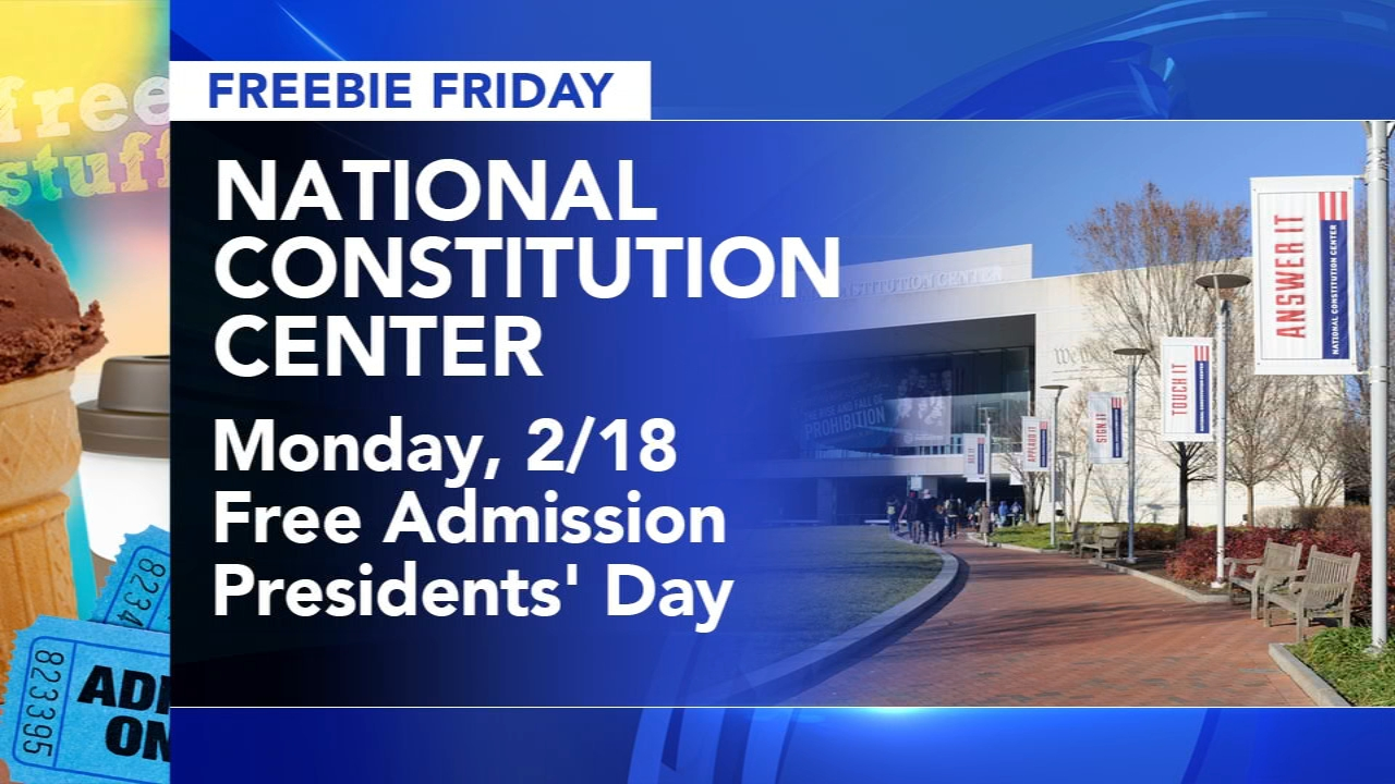 Here are your freebies being offered this Friday! Brian Taff and Sharrie Williams reports during Action News at 4:30 p.m. on February 15, 2019.