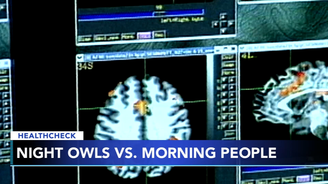 Being a night owl could determine how your brain functions. Brian Taff reports during Action News at 4 p.m. on February 15, 2019.