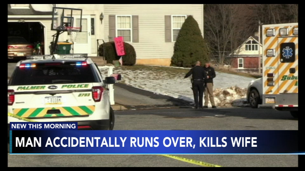 Man accidentally runs over, kills wife in Lehigh Valley. Tamala Edwards reports during Action News Mornings on February 15, 2019.