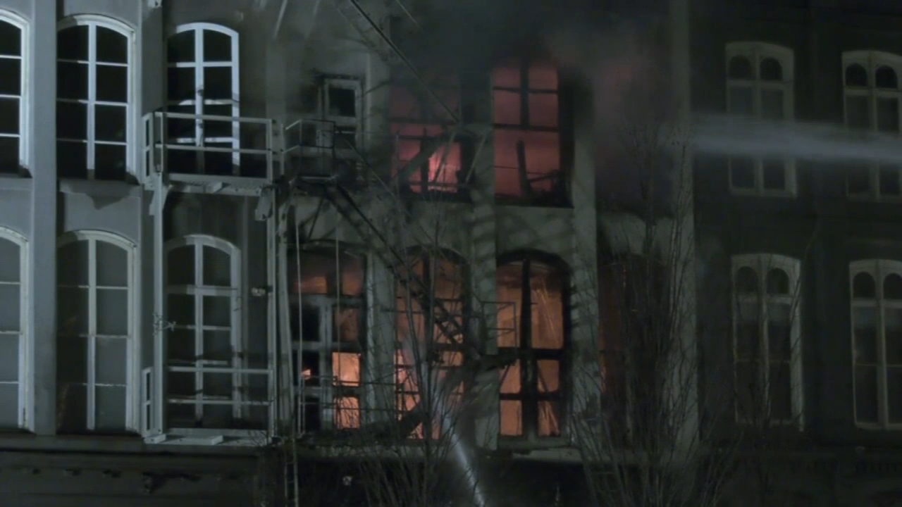 4-alarm fire in Old City ruled arson, ATF says. Jeff Chirico reports during Action News at 11 p.m. on February 15, 2019.