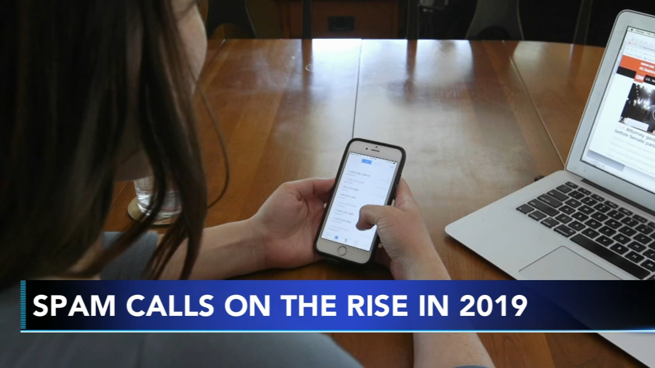 A new report from the FCC says half of the calls made to U.S. cellphones in 2019 will be spam. Rick Williams has more on Action News at Noon on Feb. 15, 2019.