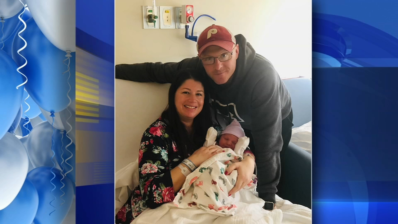 Congratulations to the Womer family on their new arrival. Jim Gardner reports during Action News at 6 p.m. on February 15, 2019.