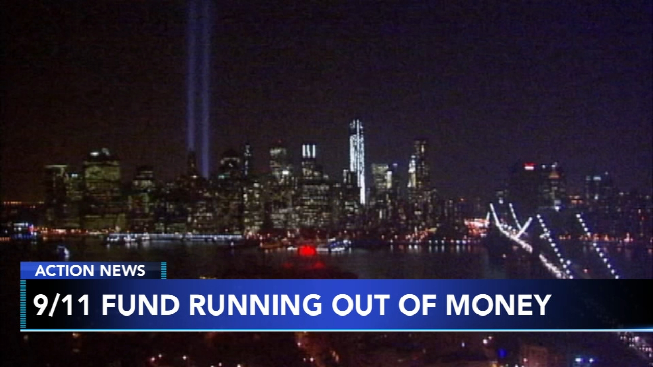 9/11 fund running out of money for those with illnesses. Christie Ileto reports during Action News at 9 a.m. on February 16, 2019.