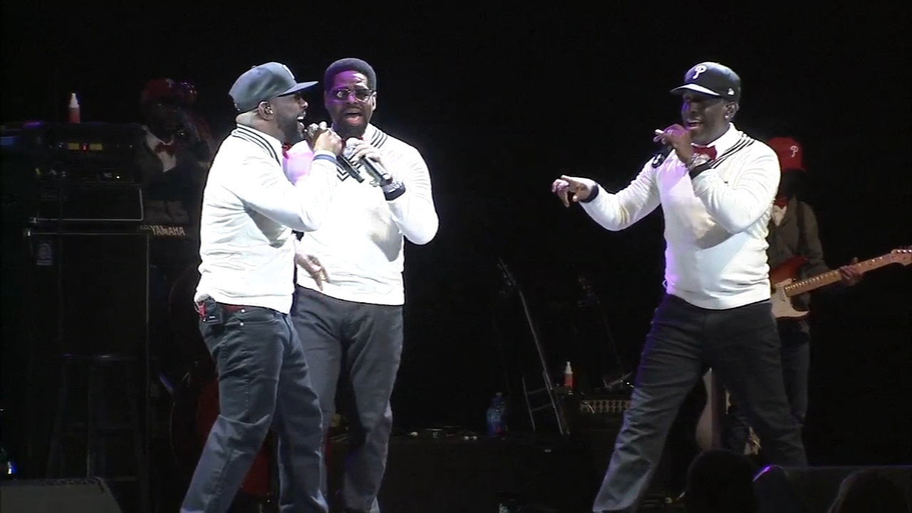 Boyz II Men celebrate their 25th anniversary in Philadelphia. Walter Perez reports during Action News at 10 p.m. on February 16, 2019.