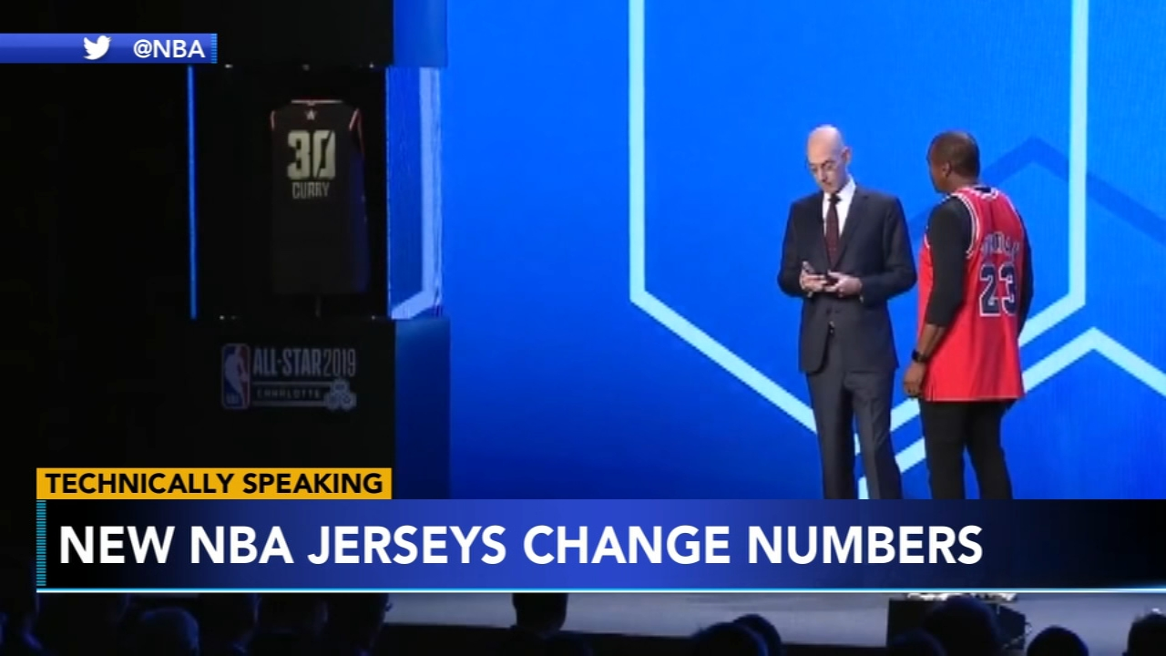 NBA unveils new customizable jerseys. Gray Hall reports during Action News at 9 a.m. on February 16, 2019.