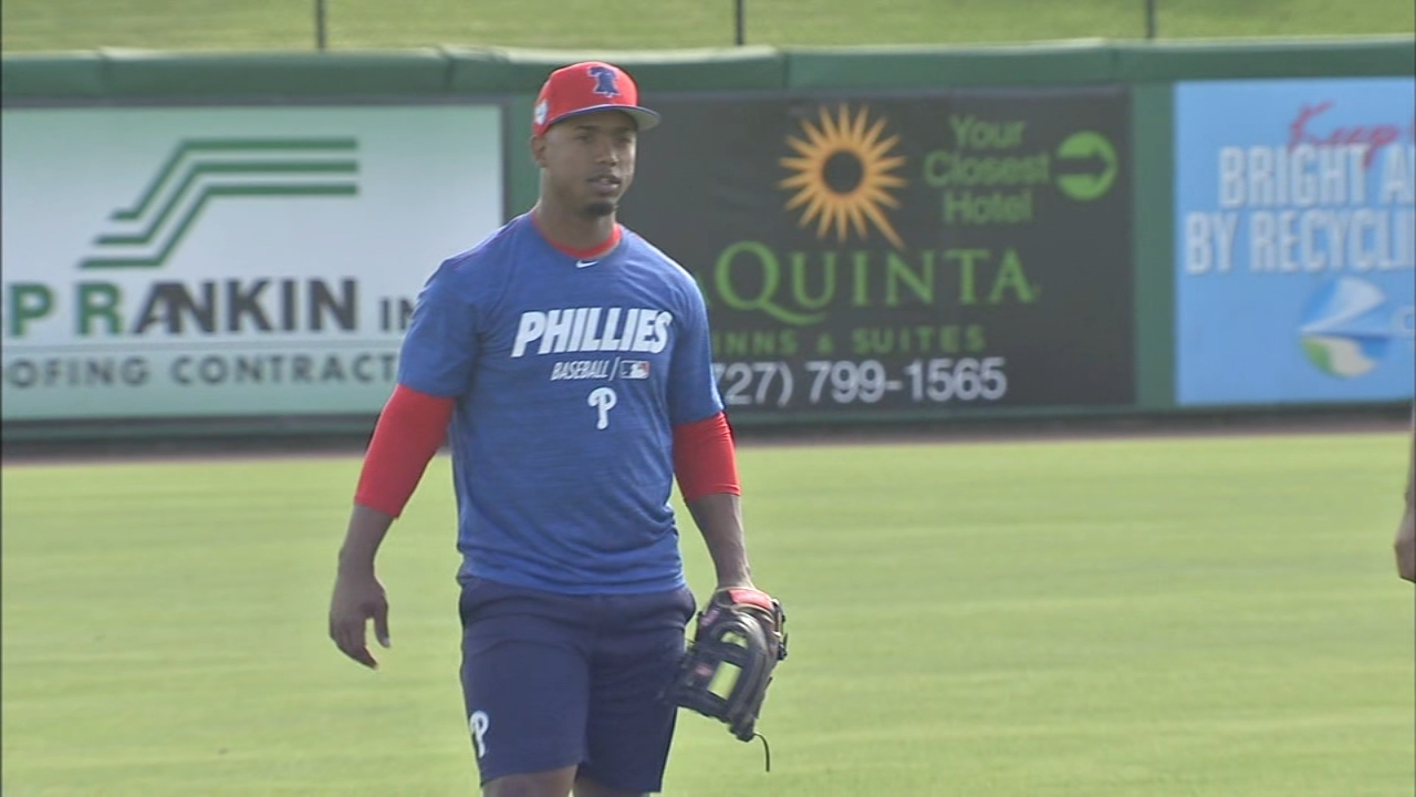 All-Star Jean Segura arrives at Phillies spring training in Clearwater. Jeff Skversky reports during Action News at 6 p.m. on February 16, 2019.