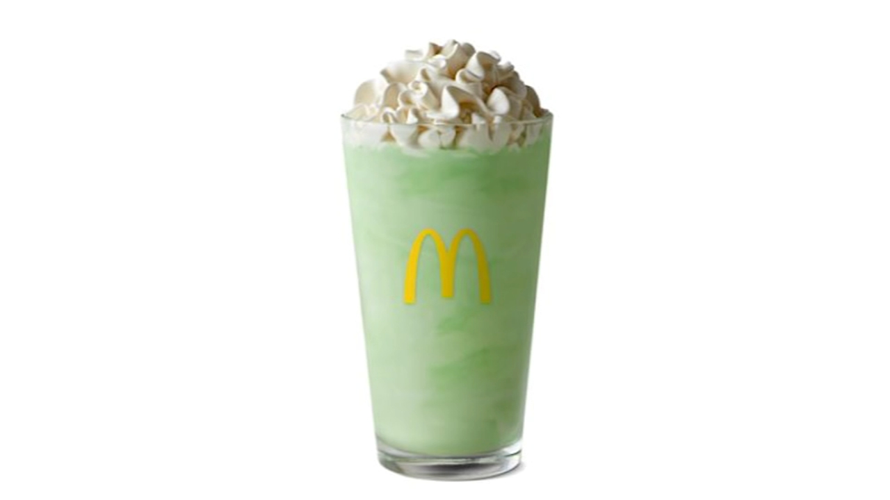 Shamrock Shake returns to McDonalds. Gray Hall reports during Action News at 6 a.m. on February 16, 2019.