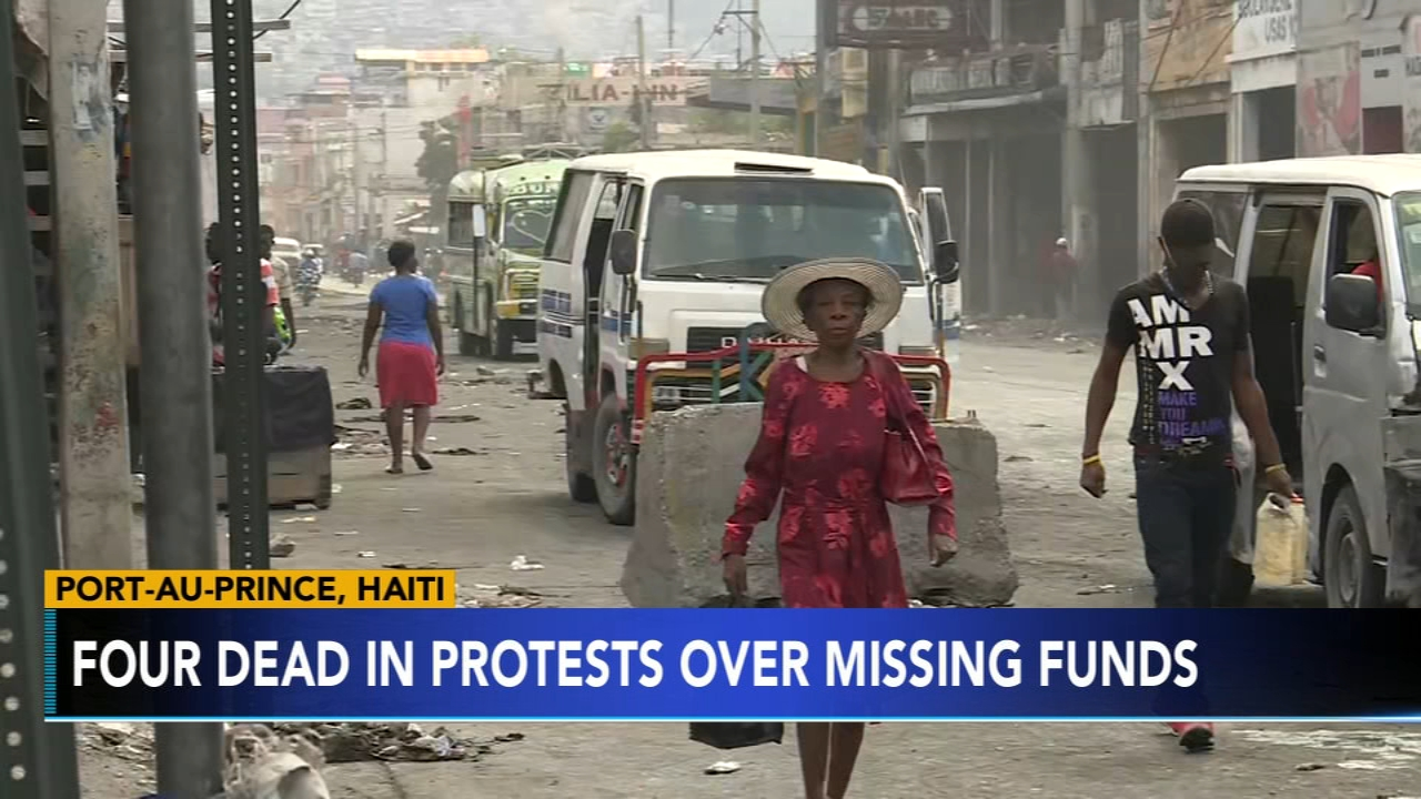 78 inmates escape during violent protests in Haiti. Nydia Han reports during Action News at noon on February 17, 2019.