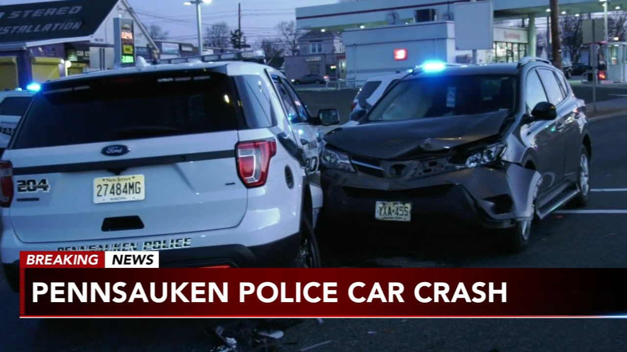 Police officer, woman injured after vehicle crashes into patrol car in Pennsauken. Gray Hall reports during Action News at 7 a.m. on February 17, 2019.