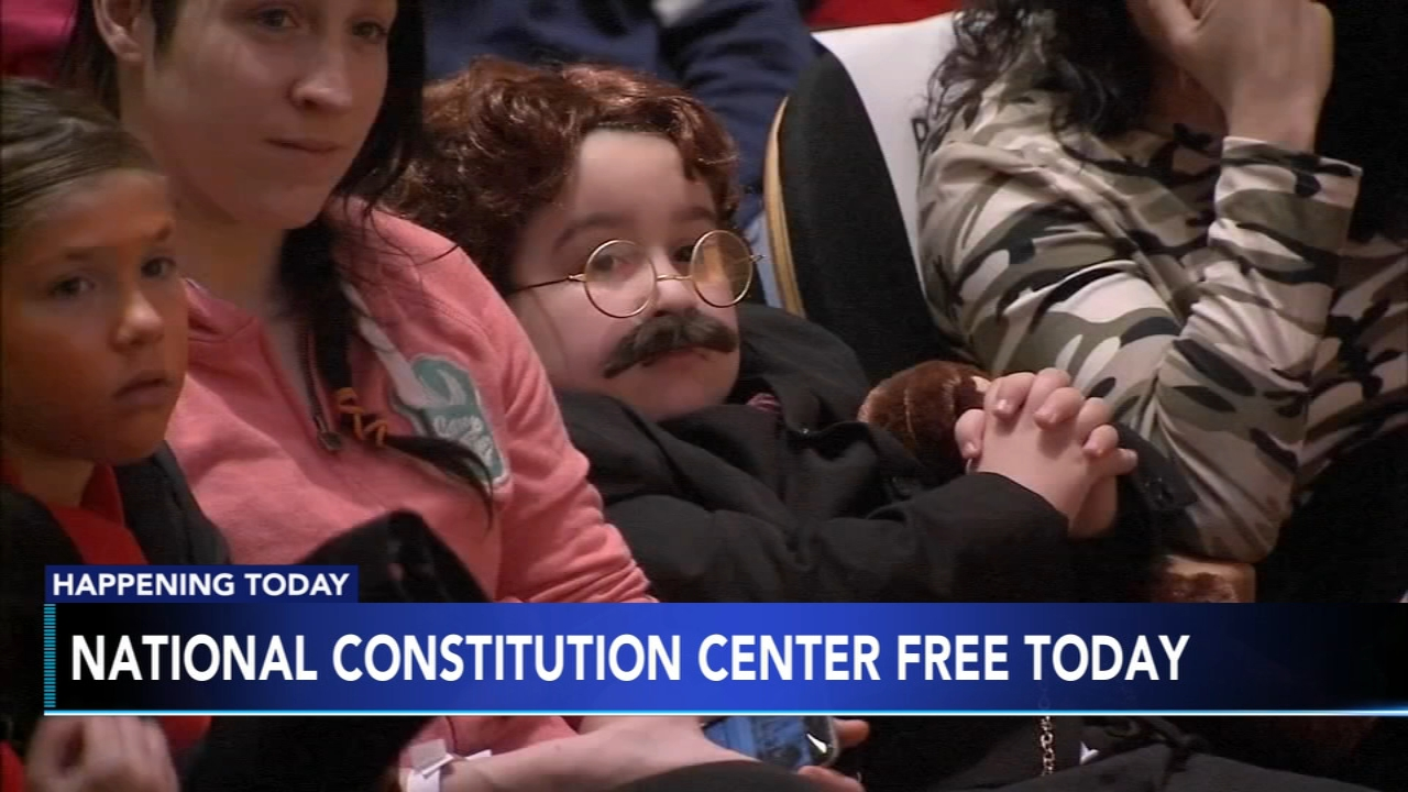 National Constitution Center free on Presidents Day. Matt ODonnell reports during Action News Mornings on February 18, 2019.