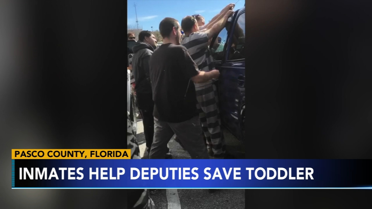 Inmates help deputies save toddler. Tamala Edwards reports during Action News Mornings on February 18, 2019.