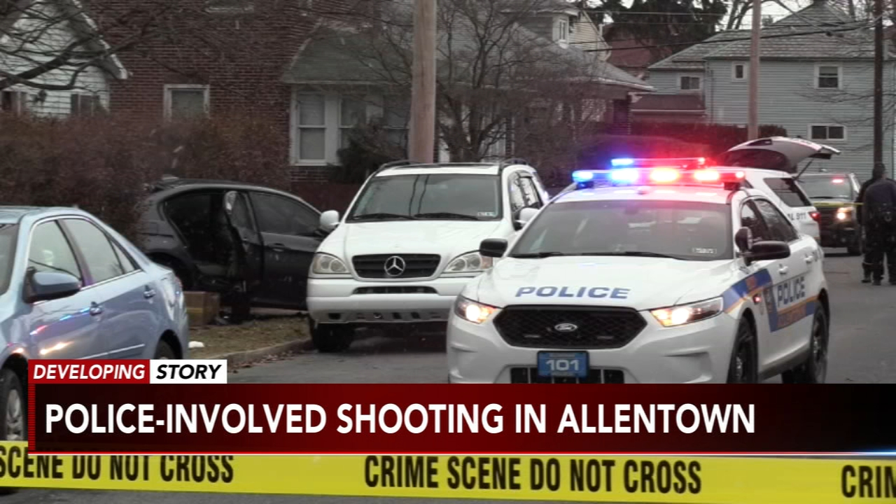 Reports of a police-involved shooting in Allentown: as seen on Action News at 6 p.m., February 18, 2019
