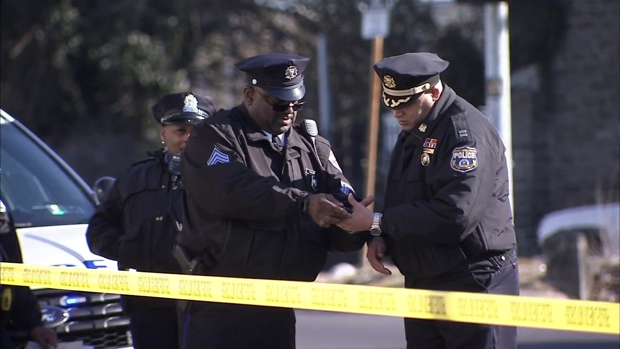 Man shot twice in Germantown. Video from the scene on February 19, 2019.