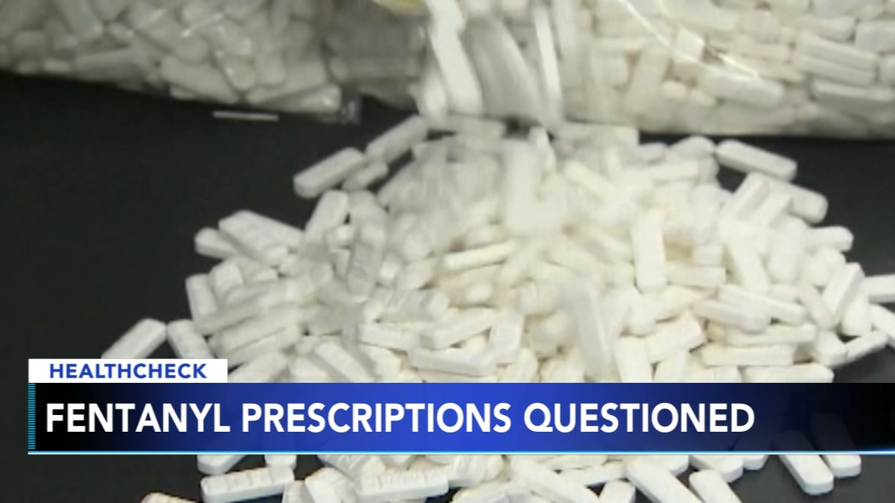 Study: Fentanyl often unnecessarily prescribed. Registered Nurse Ali Gorman reports during Action News at 5 p.m. on February 19, 2019.