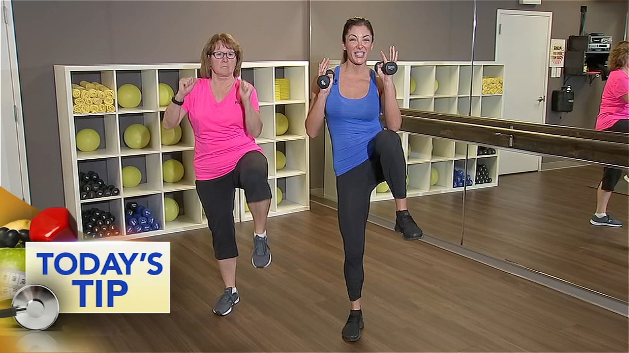 Shoshana and her friend Mary show you can do this workout no matter your level of expertise.