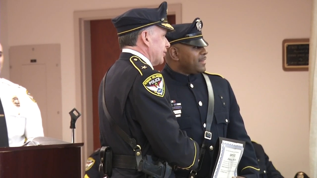 Corporal Darryl Saunders was promoted to the rank of master corporal as reported during Action News at 4 on February 19, 2019.
