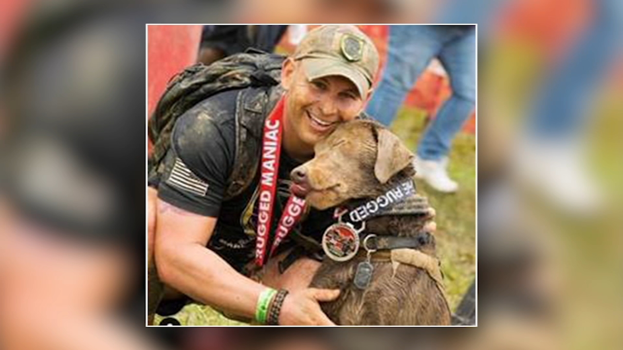 A New Jersey veteran who had considered suicide says his service dog saved his life. Dann Cuellar has more on Action News at 11 p.m. on Feb. 19, 2019.