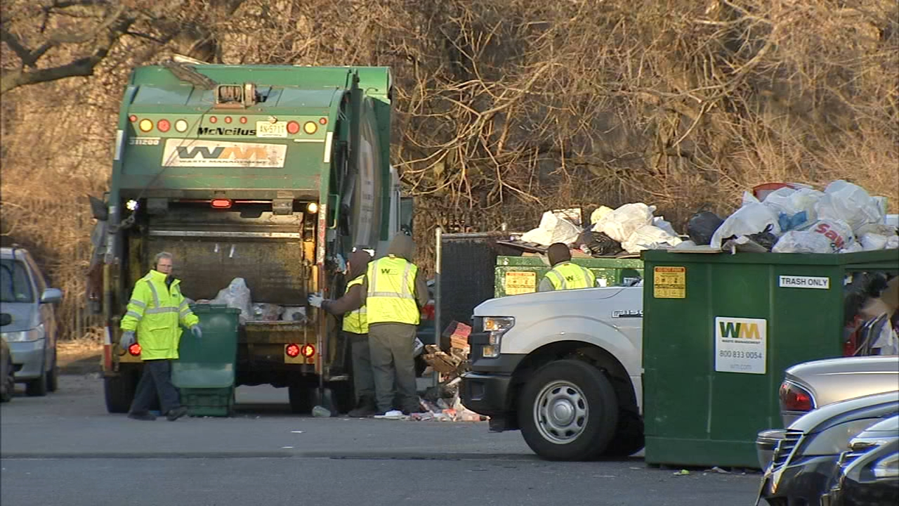 Piles of trash removed after several weeks at Camden apartments. Katherine Scott reports during Action News at 12:30 p.m. on February 19, 2019.