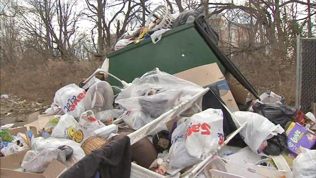 Piles of trash removed after several weeks at Camden apartments. John Rawlins reports during Action News at 4 p.m. on February 19, 2019.